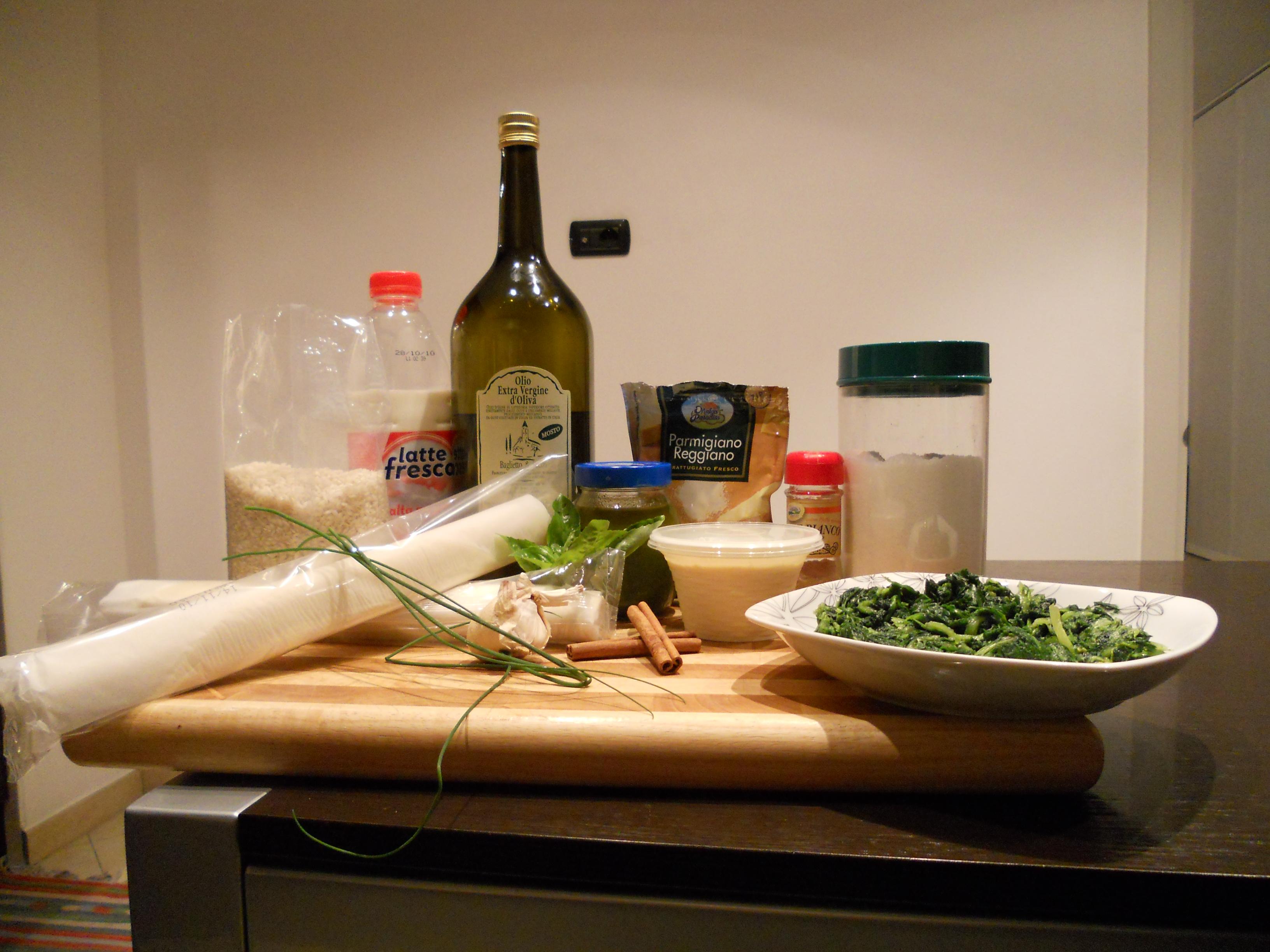 Torta salata alla ligure - Ingredienti
