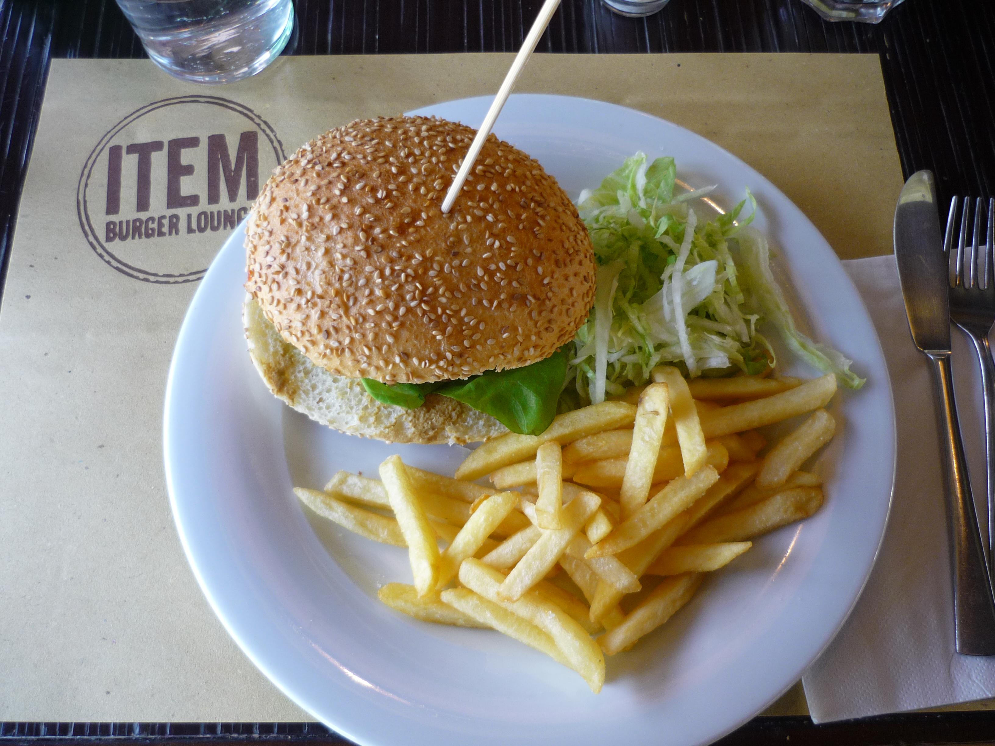 Item - Il panino con l'hamburger