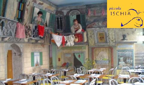 Pizzeria Piccola Ischia - il locale di via Morgagni