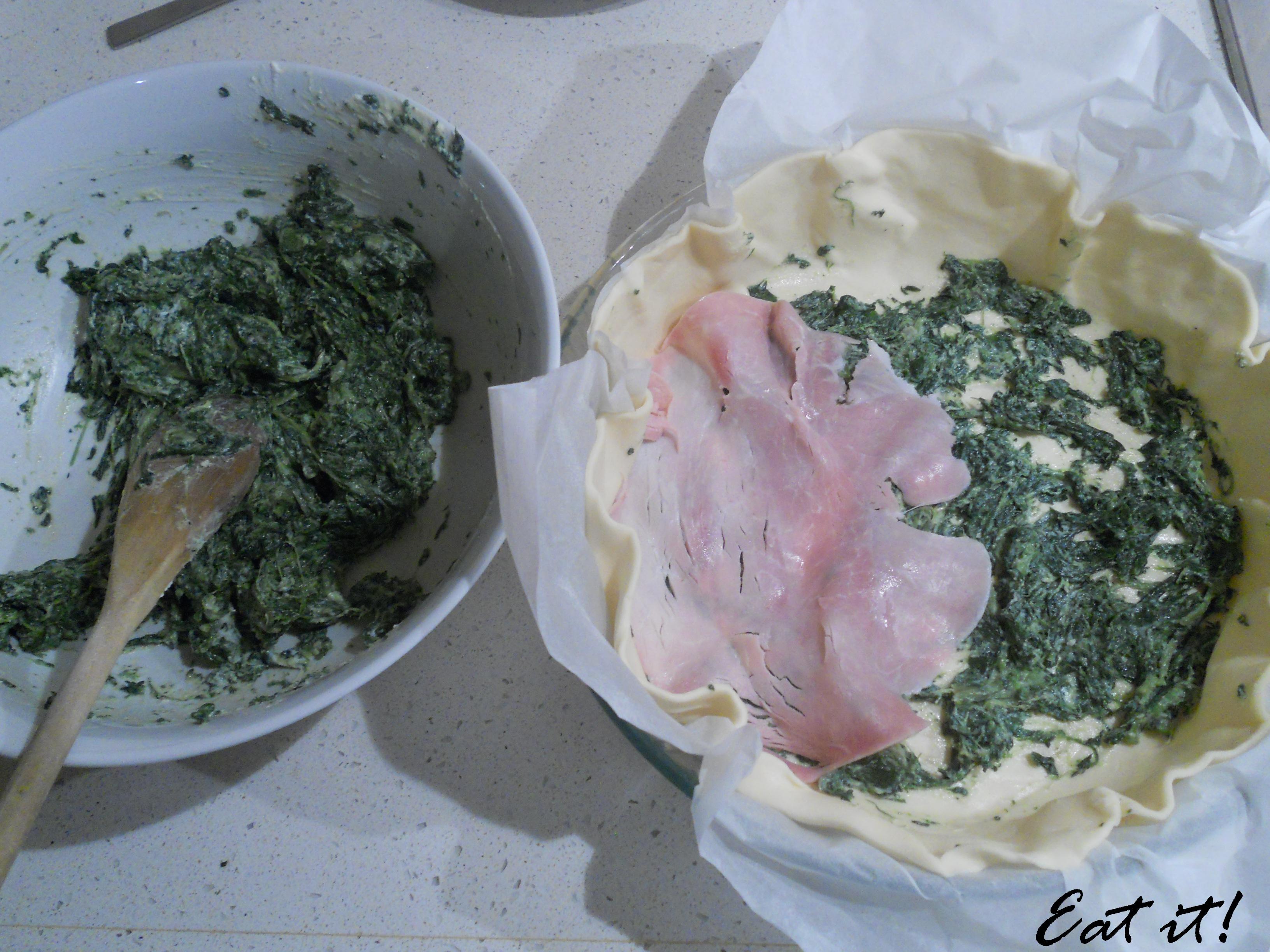 Torta salata tradizionale - La farcitura
