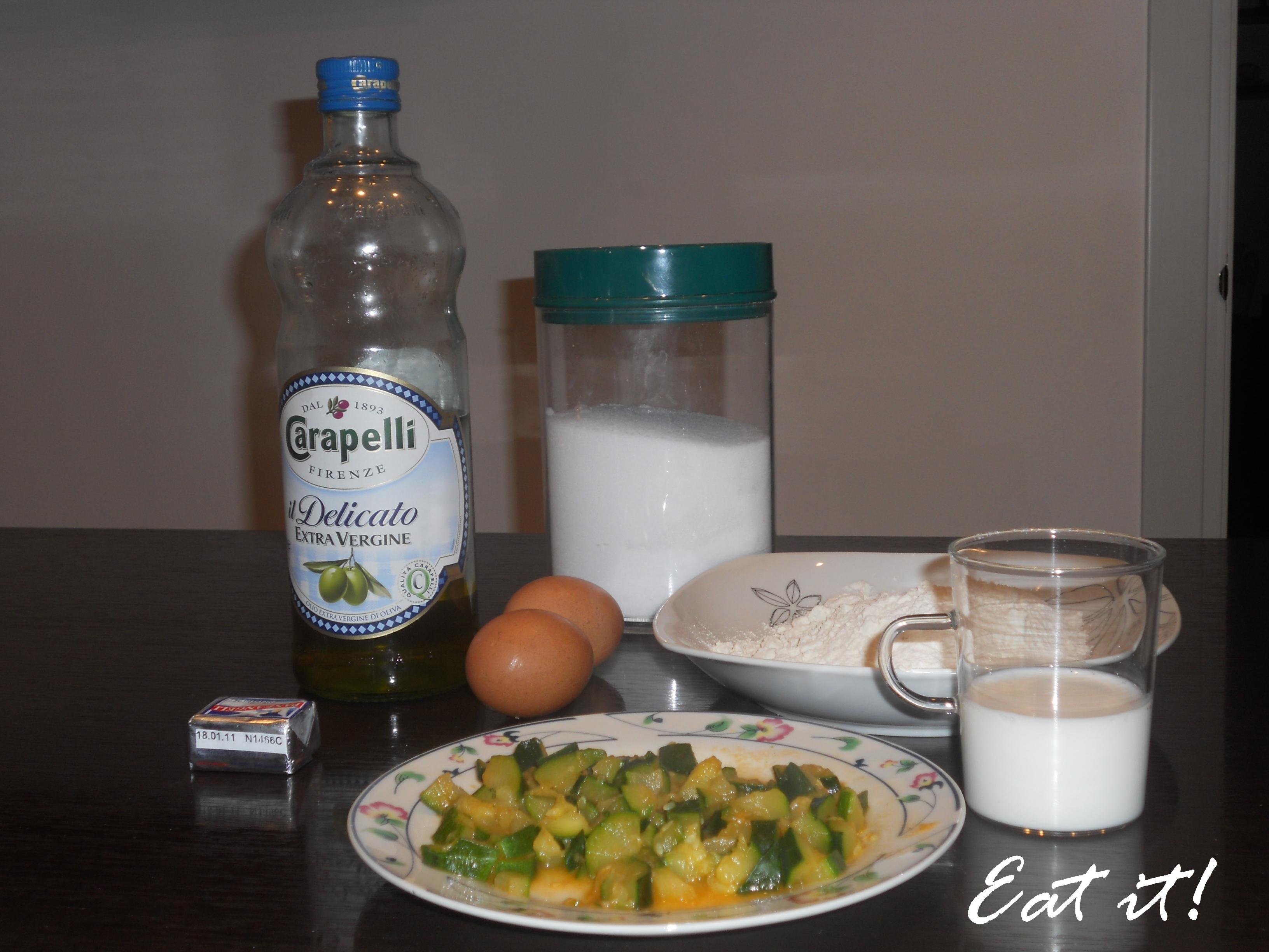 Sformatini alle zucchine - Ingredienti