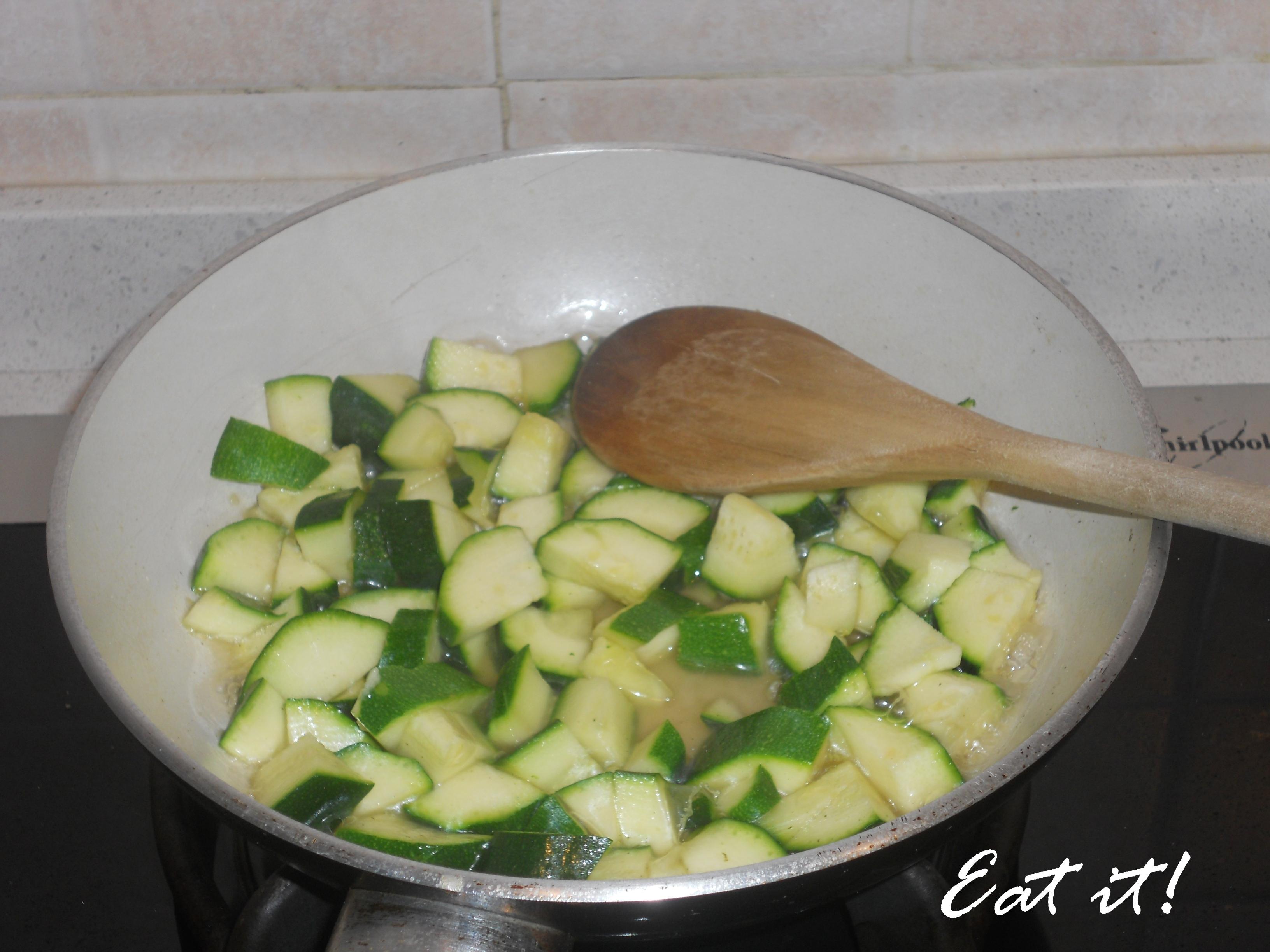 Sformatini alle zucchine - Zucchine in padella