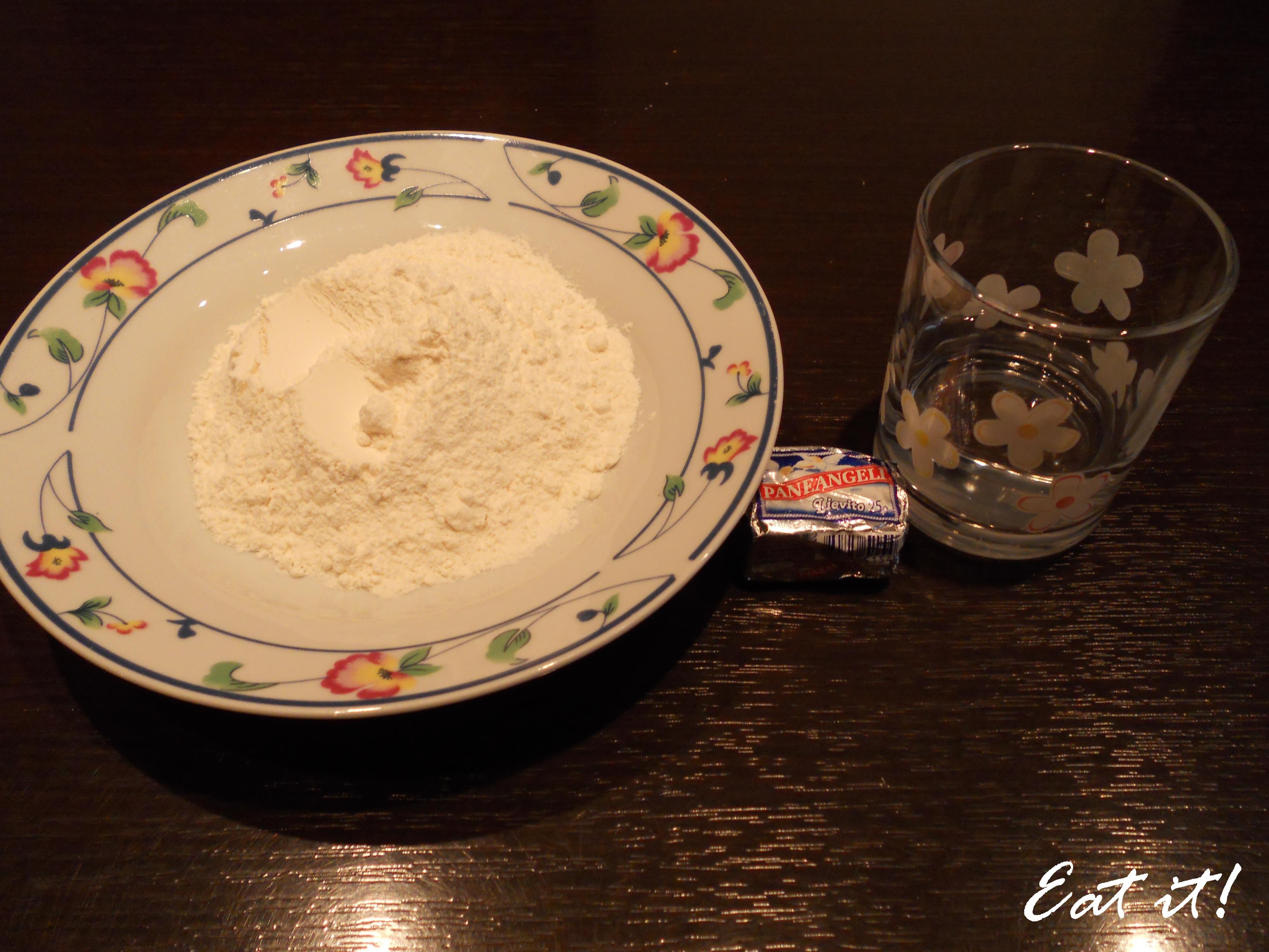 Colomba - Ingredienti biga