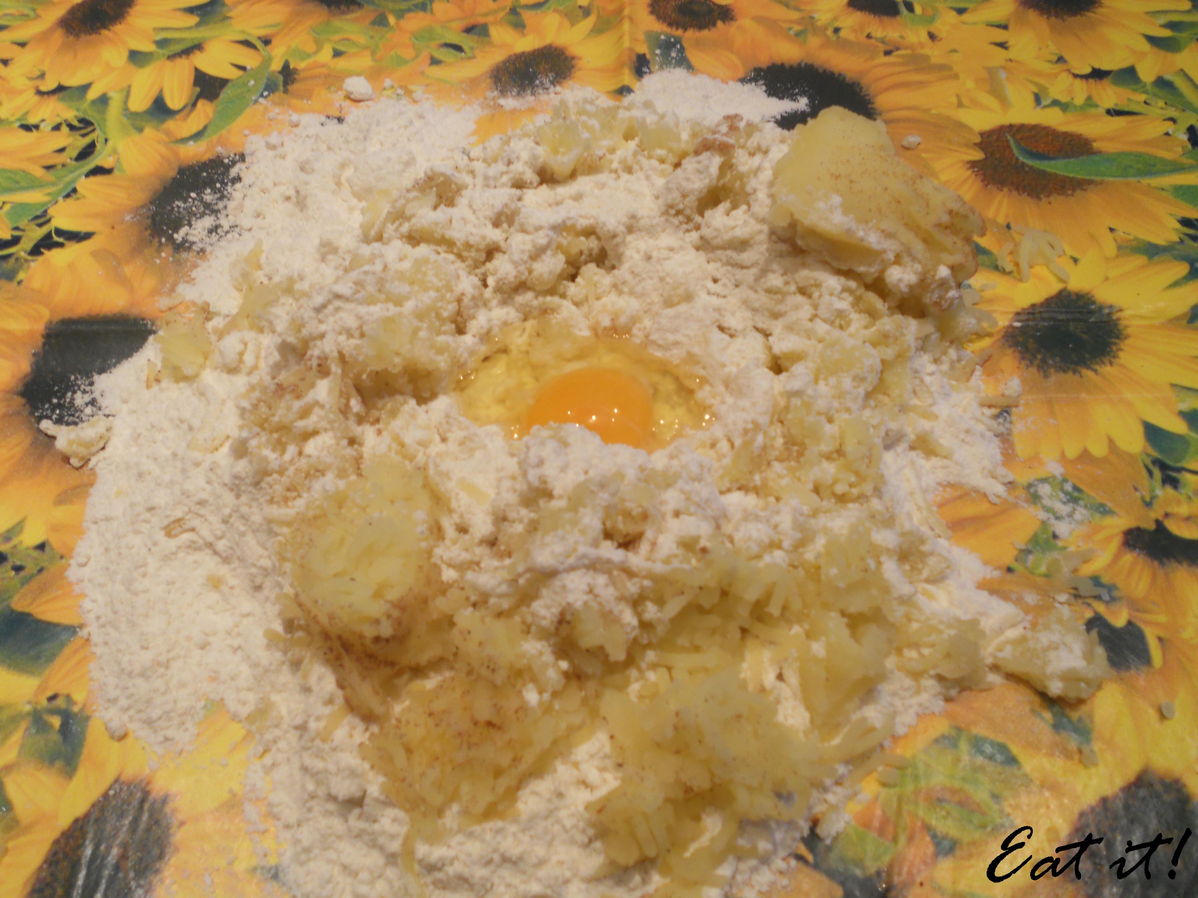 Ravioli di patate - L'impasto