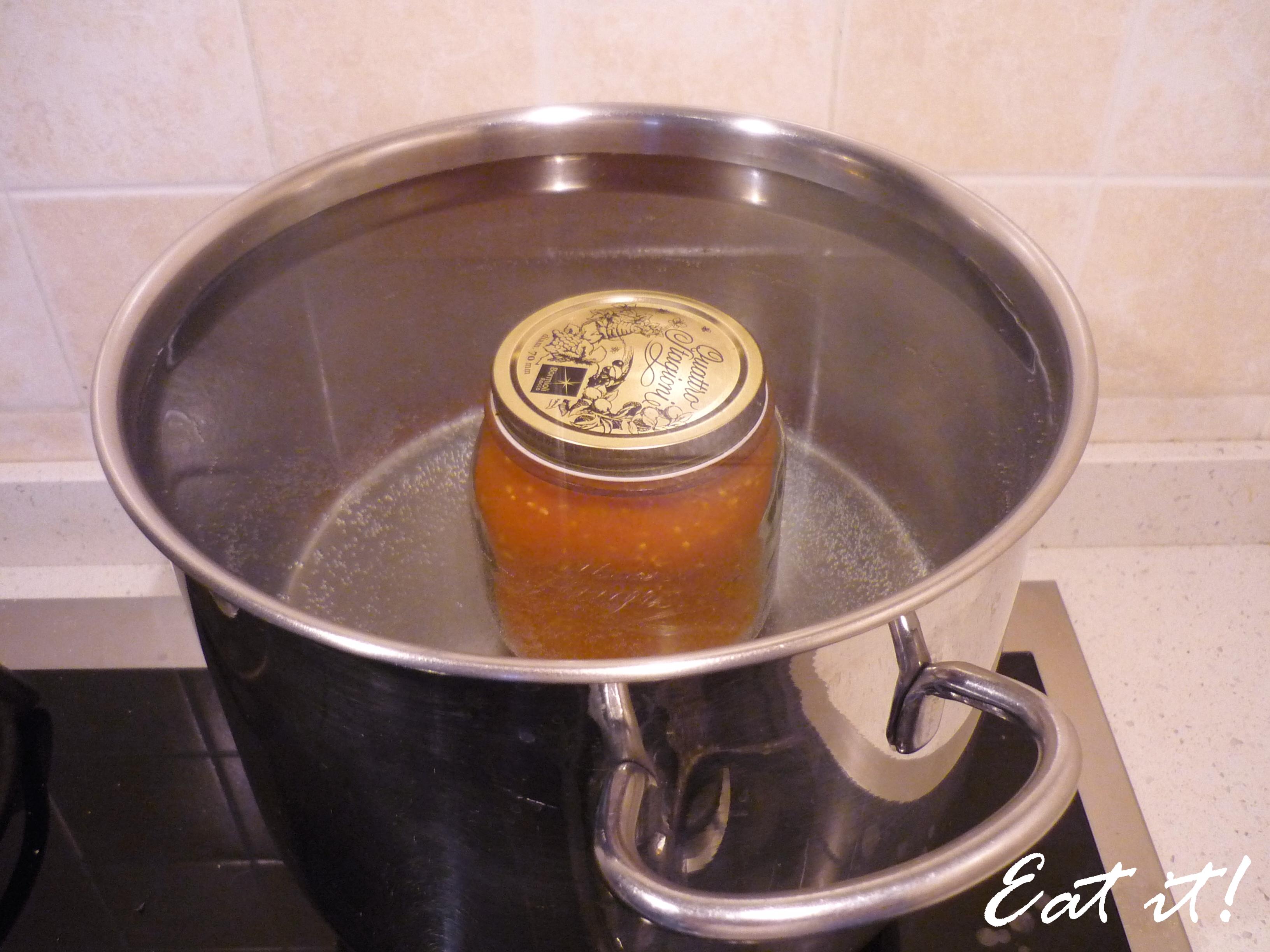 Conserva di pomodoro - In acqua bollente