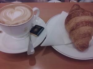 Peck - Cappuccino e brioche