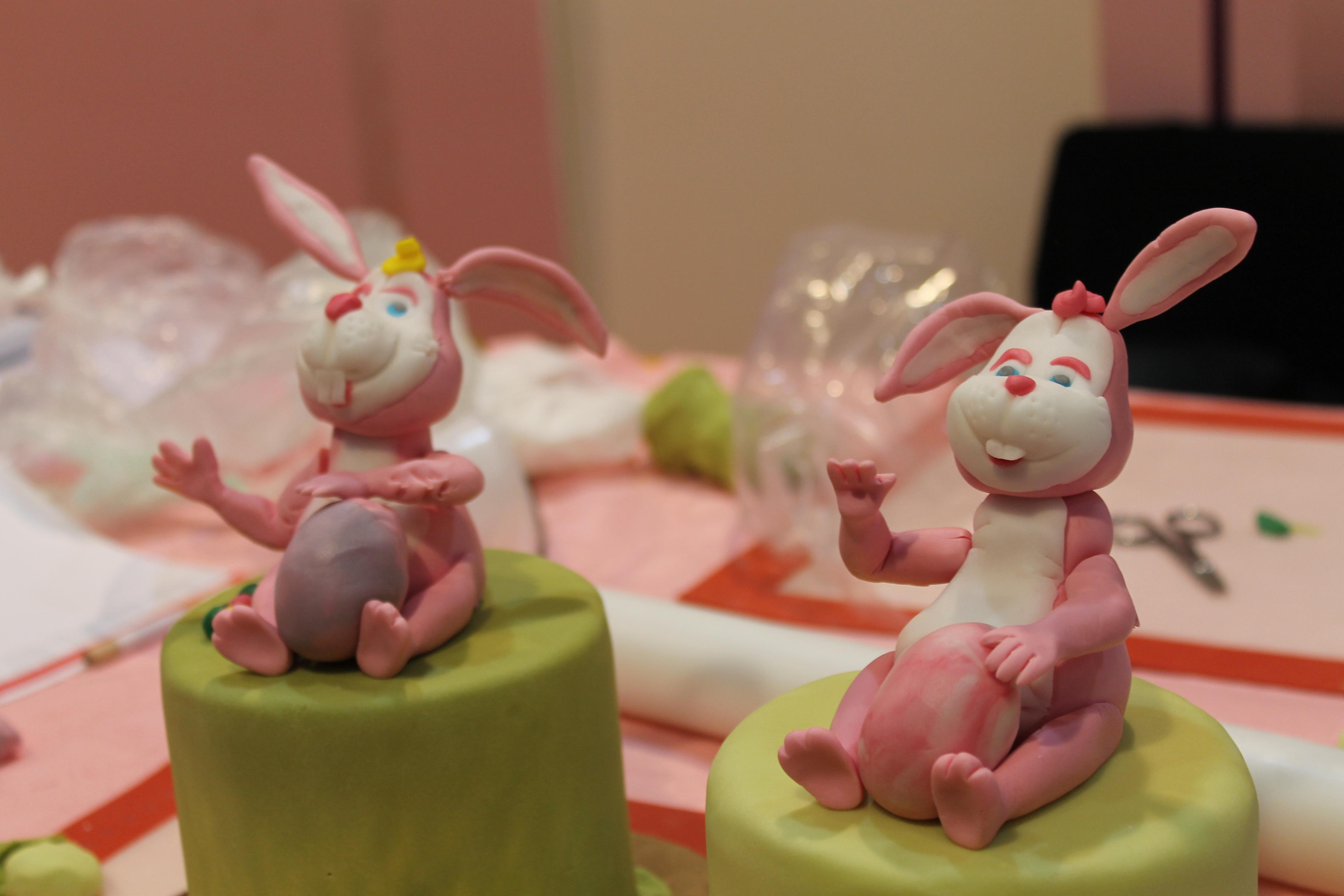 Il mio primo corso di cake design il coniglietto for Layout di seminterrato finito