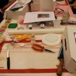 Il tavolo da lavoro