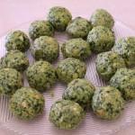 Canederli gorgonzola e spinaci