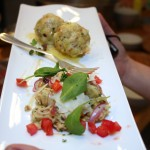Canederli e insalata di canederli