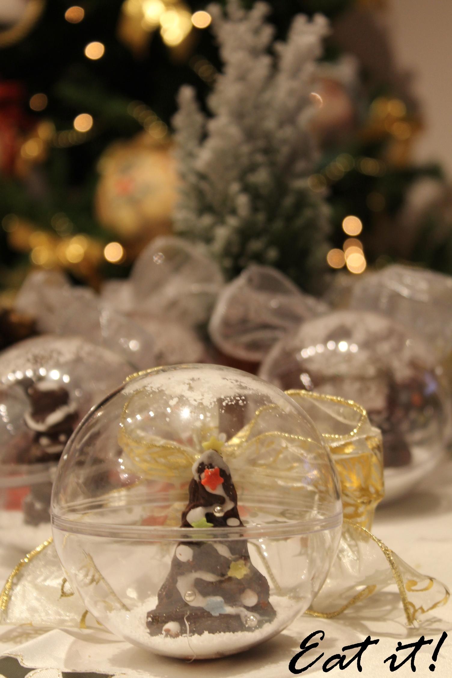 Palle di natale con sorpresa al cioccolato eatitmilano for Antifurto con le palle