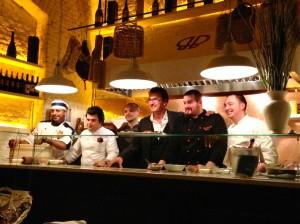 David Ranucci e il suo staff