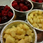 Riempire con la frutta