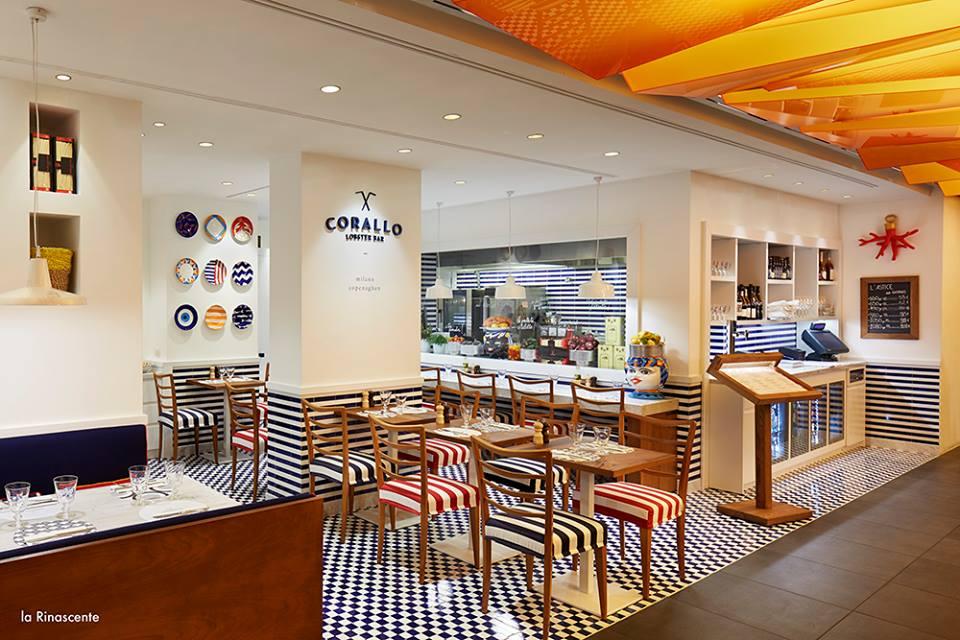 Corallo, Food Hall Rinascente