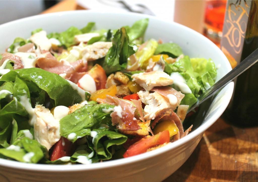 Caesar salad light