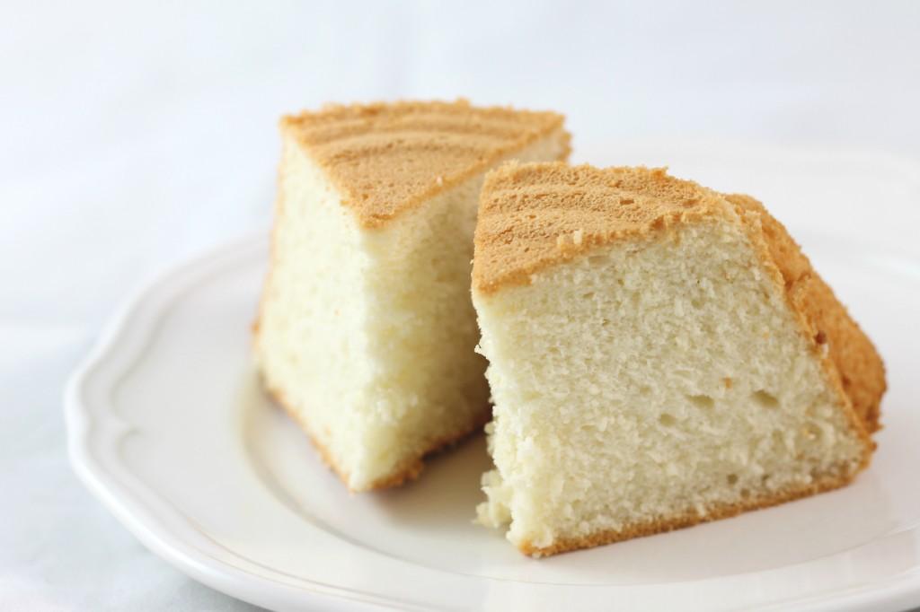 Angel cake fetta