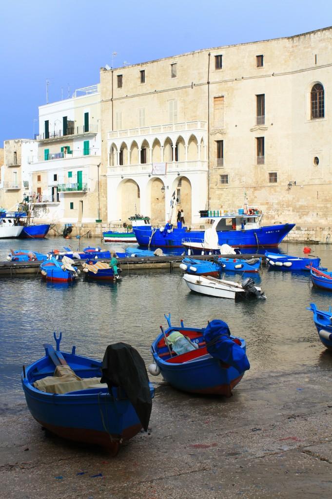 Le barche blu