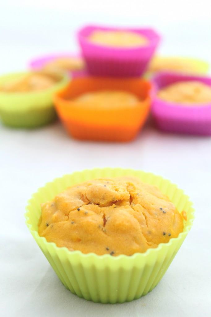 Muffin zucca e pancetta