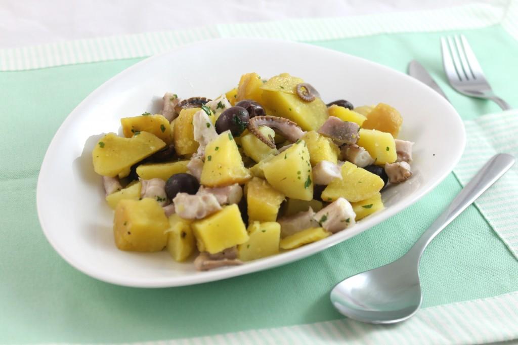 Polpo patate e olive