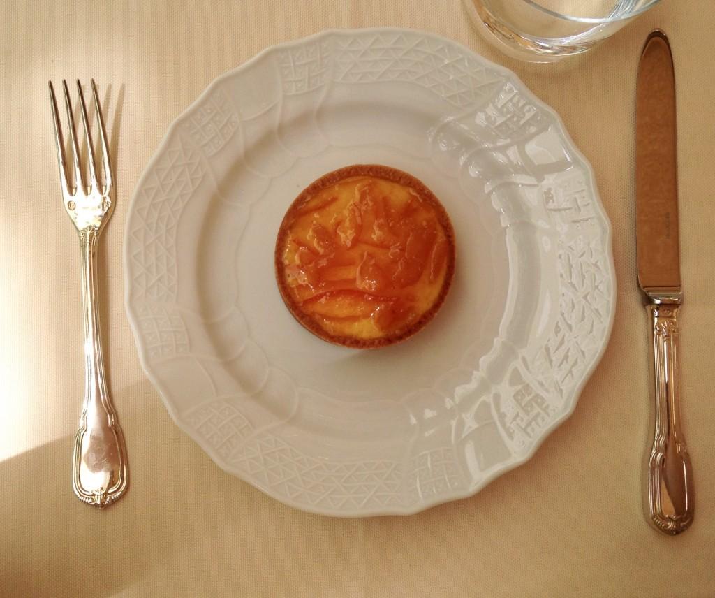 Bavarese in crosta d'arancia amara