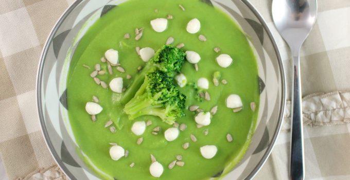 Vellutata di broccoli fondente