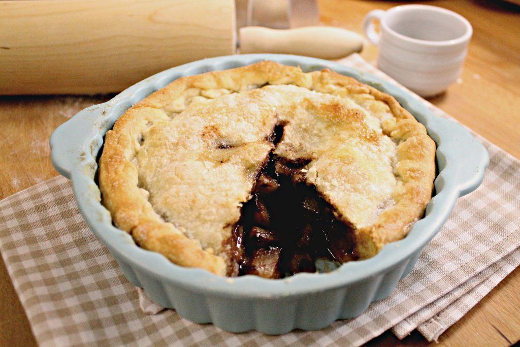 Pie pere cioccolato focus