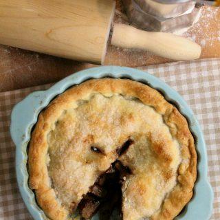 Pie pere e cioccolato