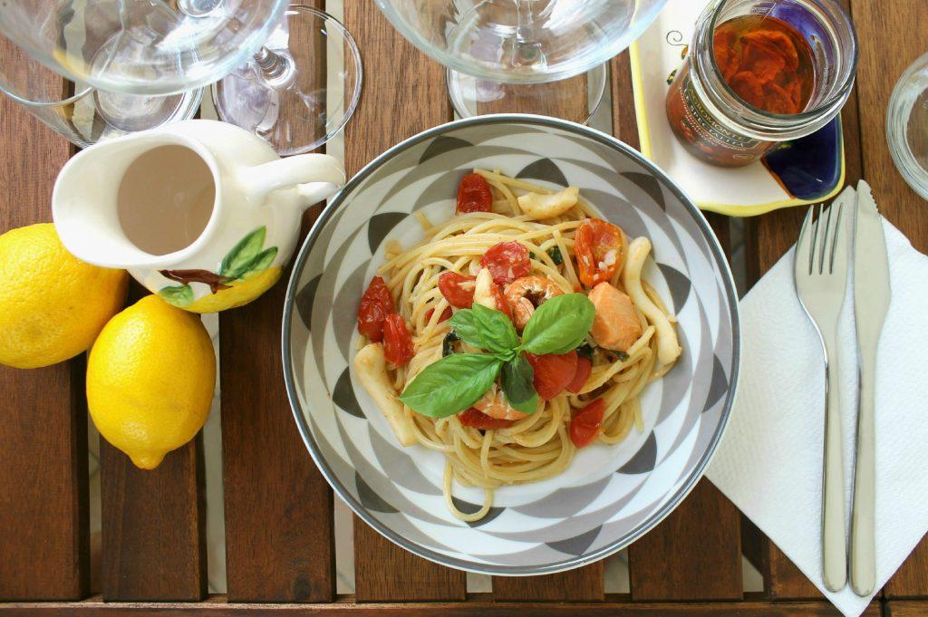 Spaghetti al pesce