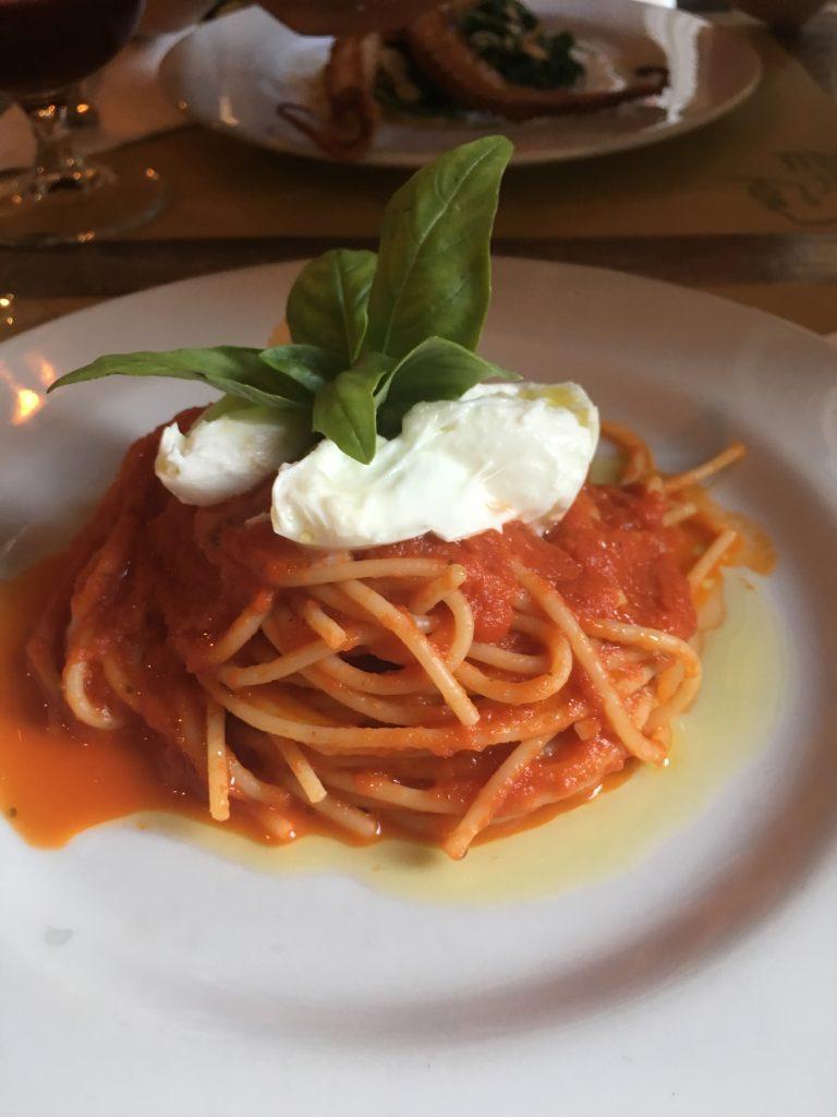 Café Gorille spaghetti