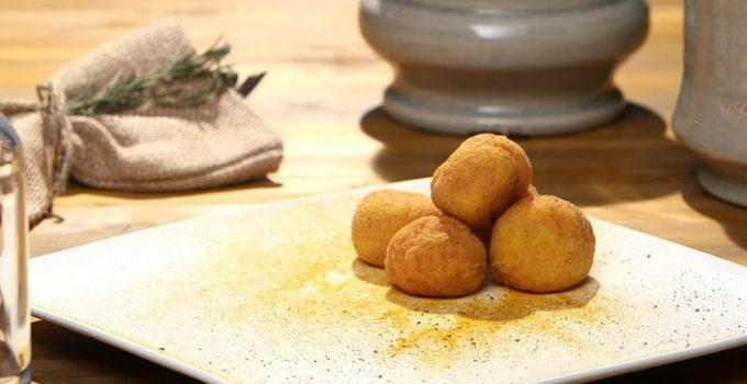 Crocchette di riso giallo alla milanese