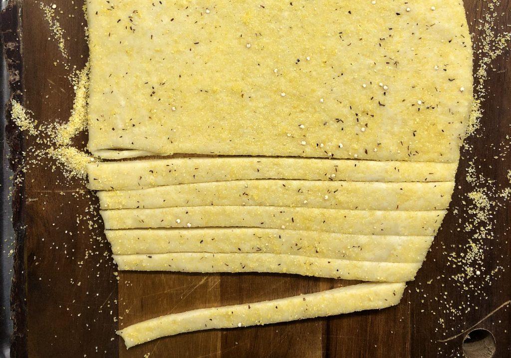 il taglio della pasta