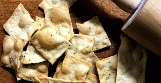 Crackers veloci, senza lievito