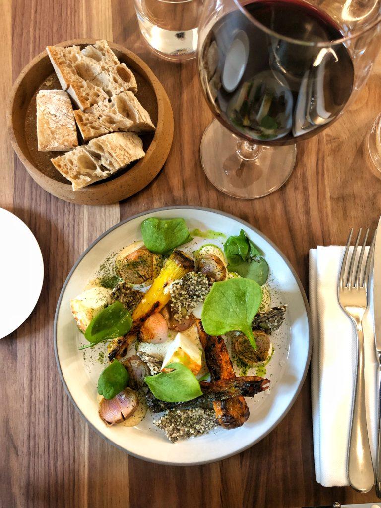 Ricotta arrosto, carote di Polignano e lampascioni - Nebbia