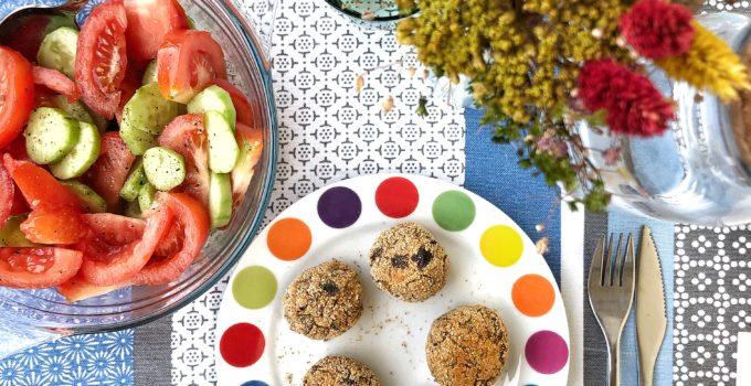 Polpette di melanzane e ricotta al forno