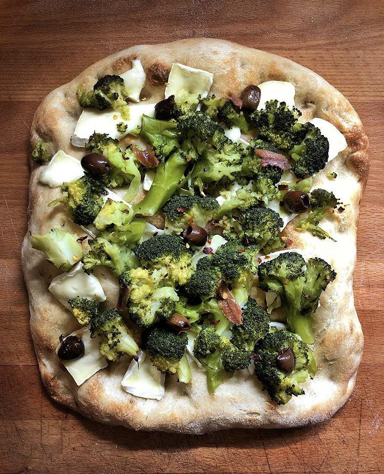 pizza romana con 1 grammo di lievito