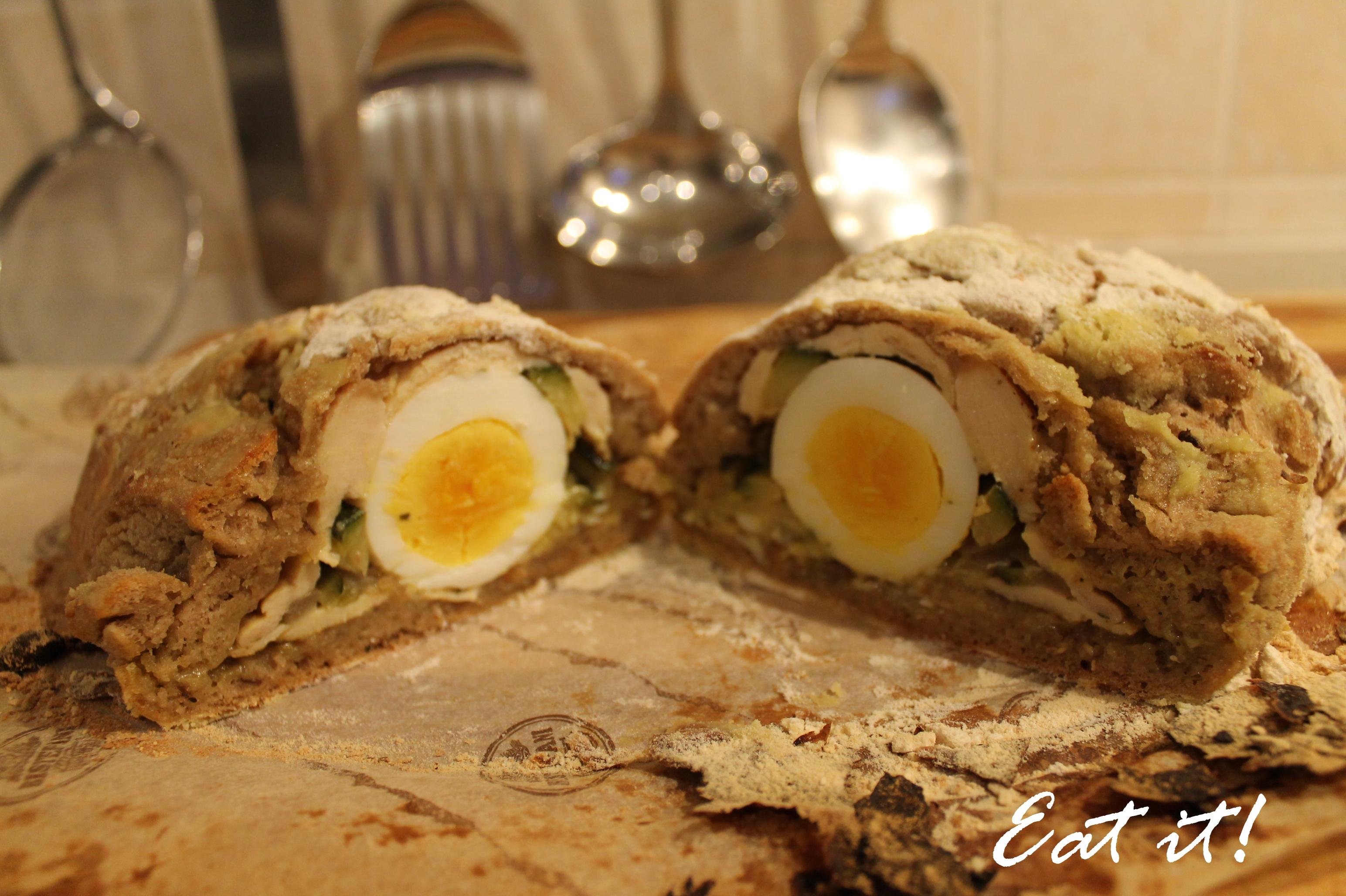 Roll di breatl al pollo